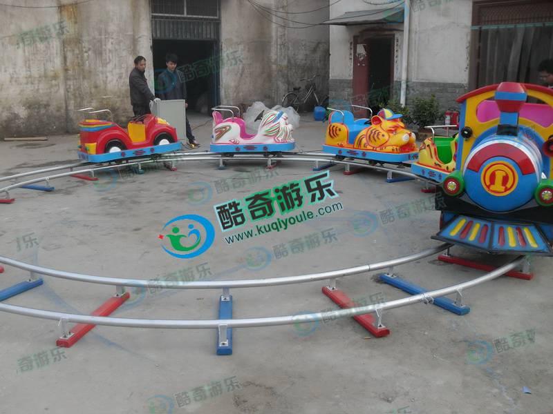 大象火车广场圆形轨道小火车豪华儿童电动游乐