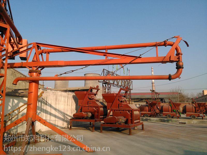 安康郑科十二米高空可移动浇筑布料杆采购价