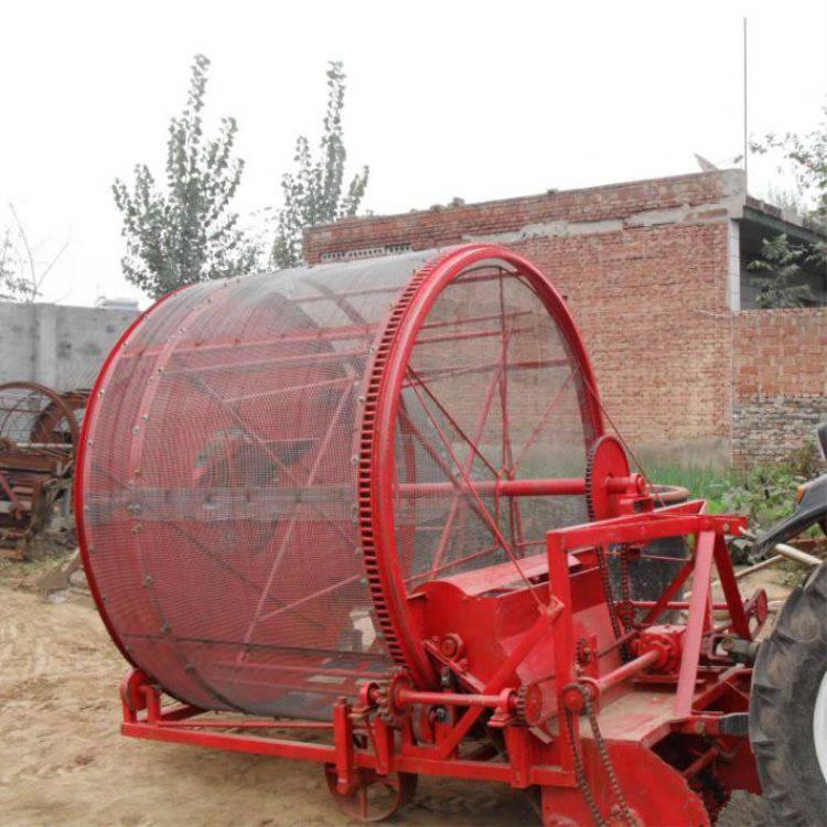 滚筒式半夏药材挖掘机 挖掘深度可调节药材收获机型号齐全