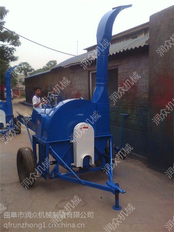 田园机械小型铡草机 多功能牧草粉碎机 润众机械