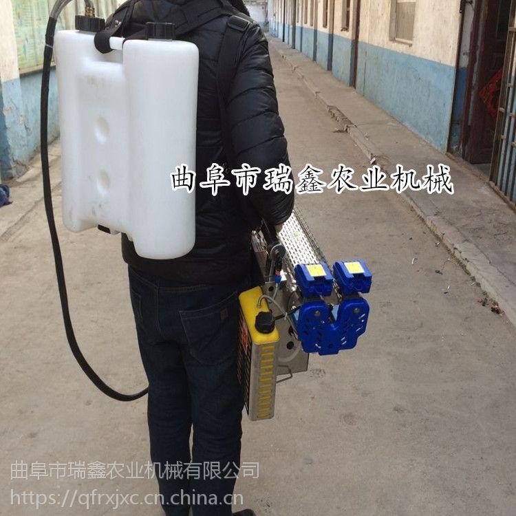 小型脉冲式汽油烟雾机 蔬菜大棚打药机 双化油器脉冲弥雾机