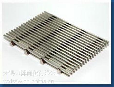 耐磨矿筛网、易渗透条缝筛、不锈钢震动筛网