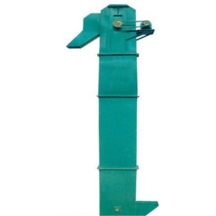 TH链条钢斗式提升机 石英砂装罐用上料机 高效率垂直送料机