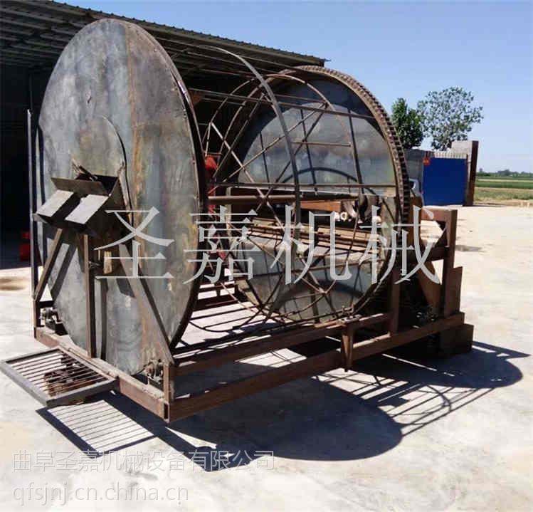 甘肃板蓝根药材起药机型号齐全 滚筒式药材收获机制造商