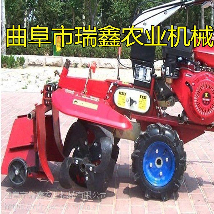 多功能中耕旋耕机 自走式柴油开沟起垄机 大棚草莓扶隆机