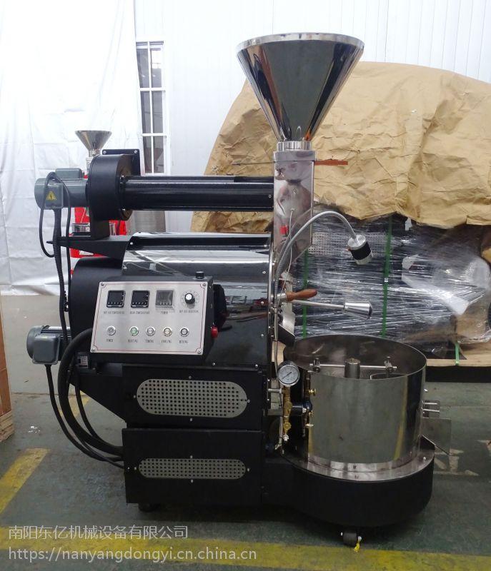 双温传感监测东亿3公斤咖啡烘焙机 USB和电脑直连操作曲线一目了然15688198688