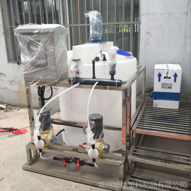 新乡1000L塑料搅拌罐 带电机