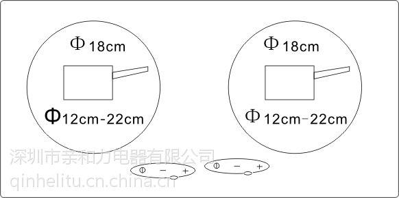 汕头亲和力节能安全嵌入式双头电磁灶厂家