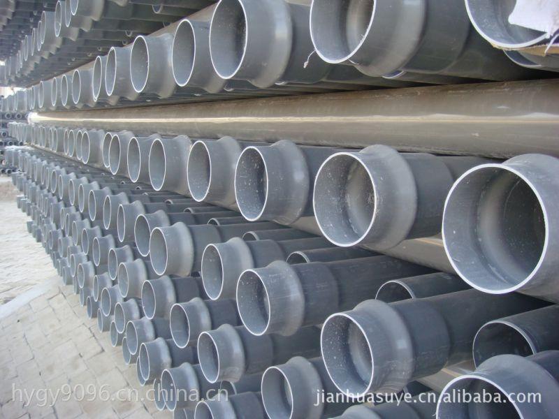 pvc灌溉管低压力排水管材标准