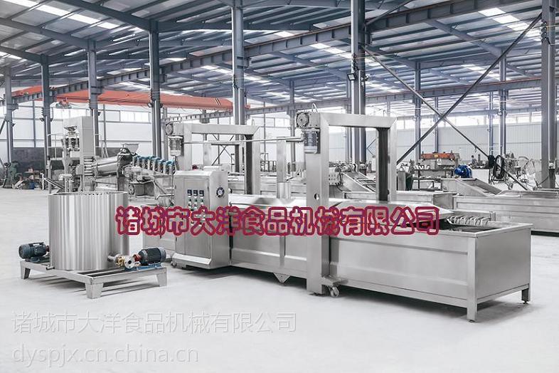 连续式豆泡油炸机 WYZ型蚕蛹油炸生产线生产商