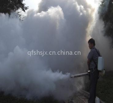果园苗圃灭虫防疫喷雾 双管脉冲弥雾机 果园烟雾机