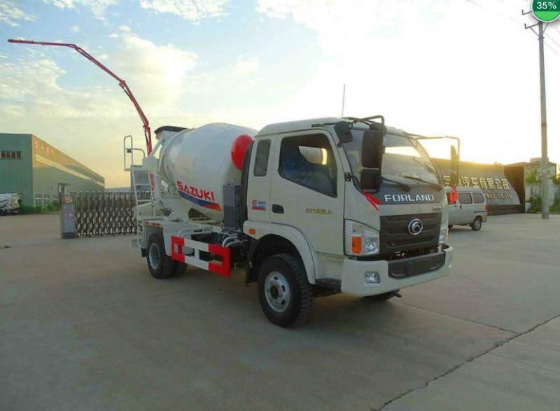 天津唐骏大三方水泥罐车生产厂家哪里有
