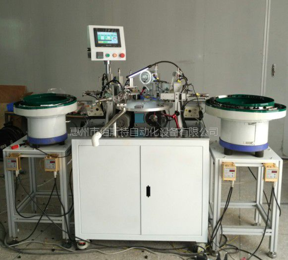 惠州佰斯特自动化防水透气阀盖自动组装机M12