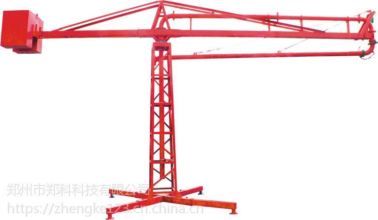 河北涿州郑科十五米新式自动布料杆浇筑均匀