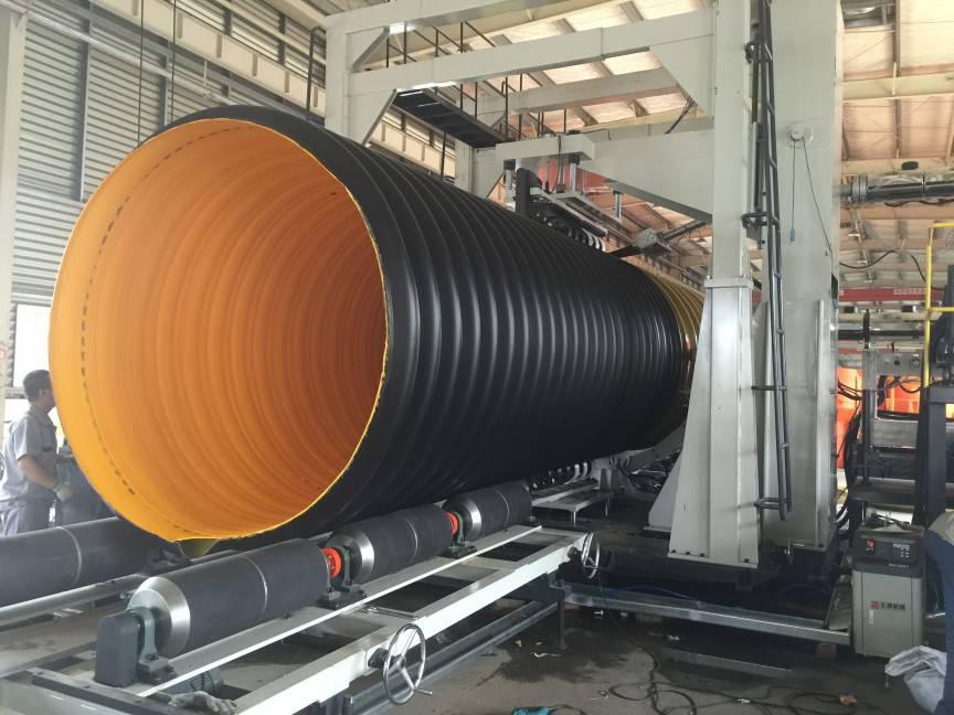 道路工程排水管|钢带增强螺旋波纹管