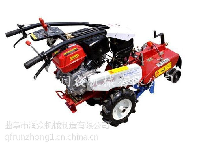 蔬菜大棚旋耕翻地机 多功能农用田园管理机 油耗低功率大