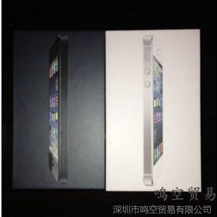 手机iPhone5苹果包装盒苹果5代美版国行港版华为手机视频导入sd卡图片