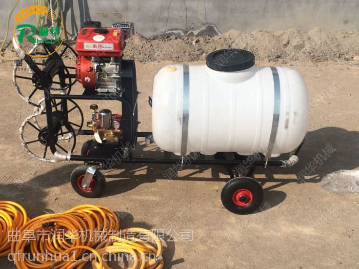 果苗喷洒打药机 手推电动喷雾器 自走式喷雾机