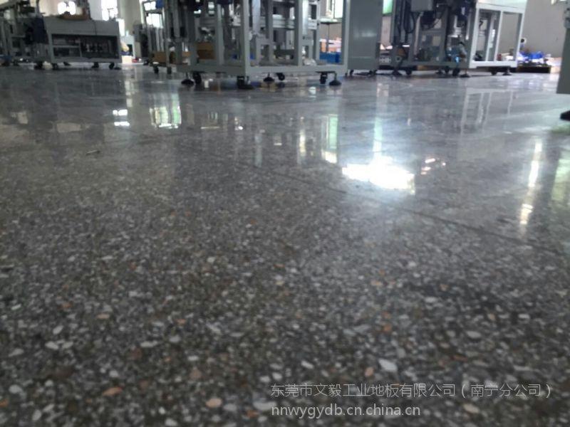 深圳桃园厂房水磨石固化翻新-招商旧地面起灰处理