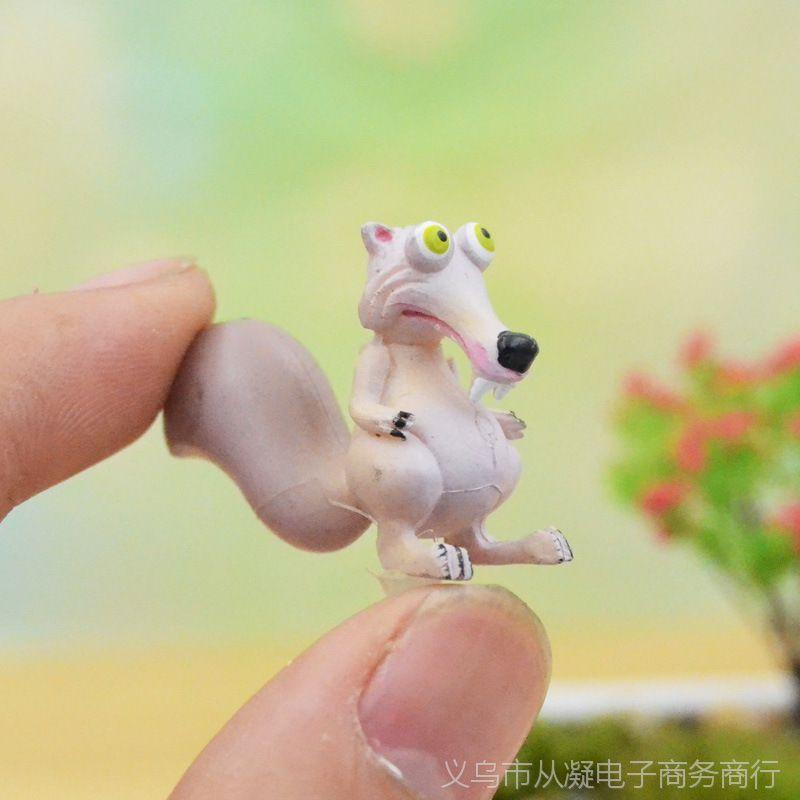 【微卡通冰河世纪飞鼠景观苔藓多肉微世纪生妖神记漫画版图片