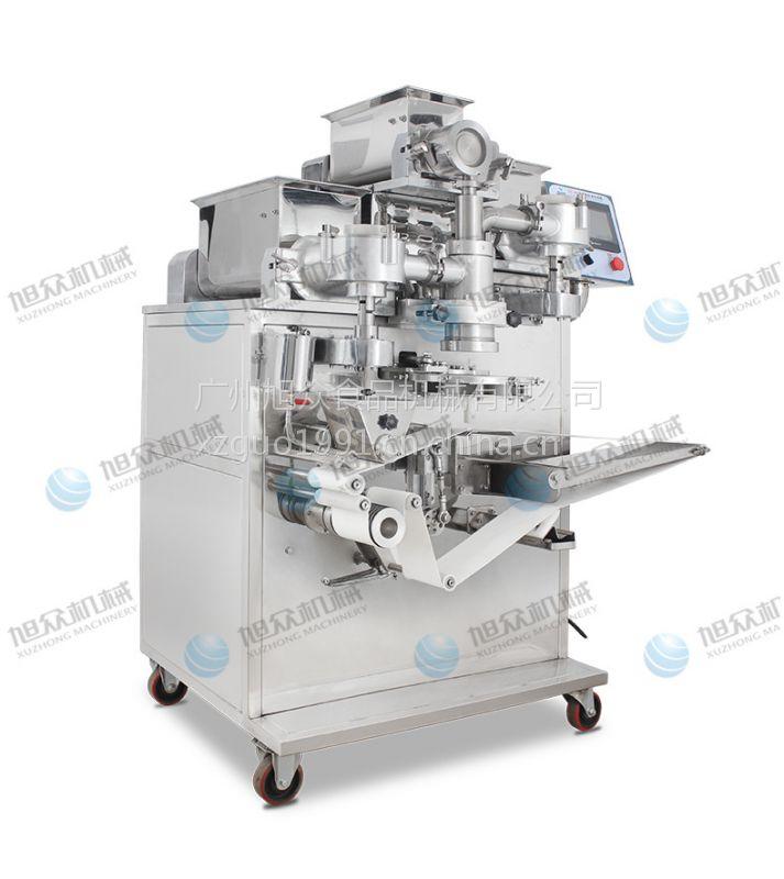 做凤梨酥的机器供应旭众牌馅中馅月饼机 做红桃果的机器