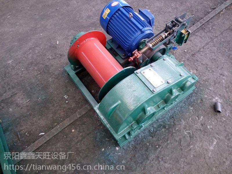 陕西华阴天旺一吨港口路桥施工用电制动卷扬机械高质高效