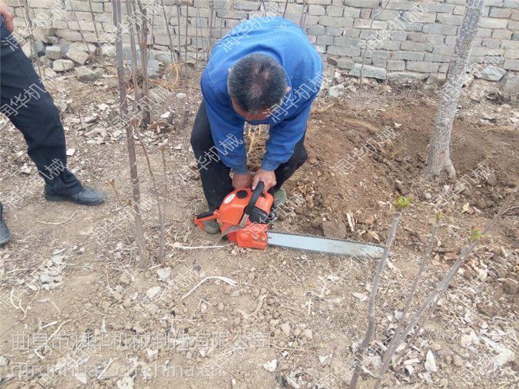 功能齐全的铲头挖树机 果树移苗断根机 带土球的挖树机价格