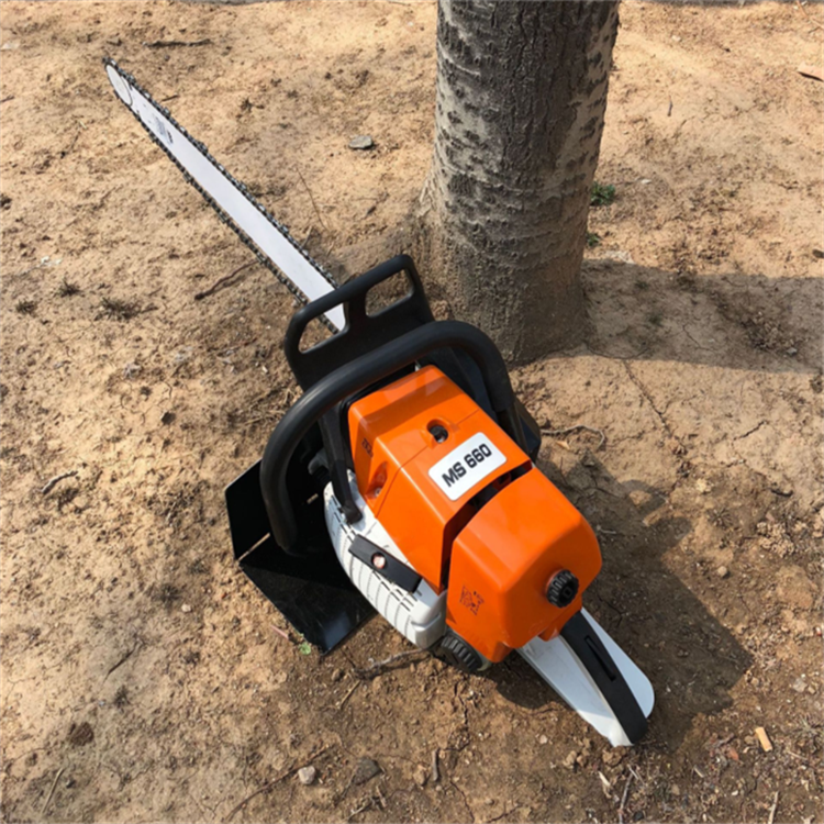 植保绿化新式挖树机 取根部移植树木 锯齿楸快速切割挖树机