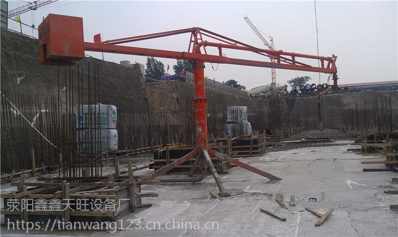 河南汝州鑫旺HG18钢架双回转高楼楼面浇筑布料机使用说明