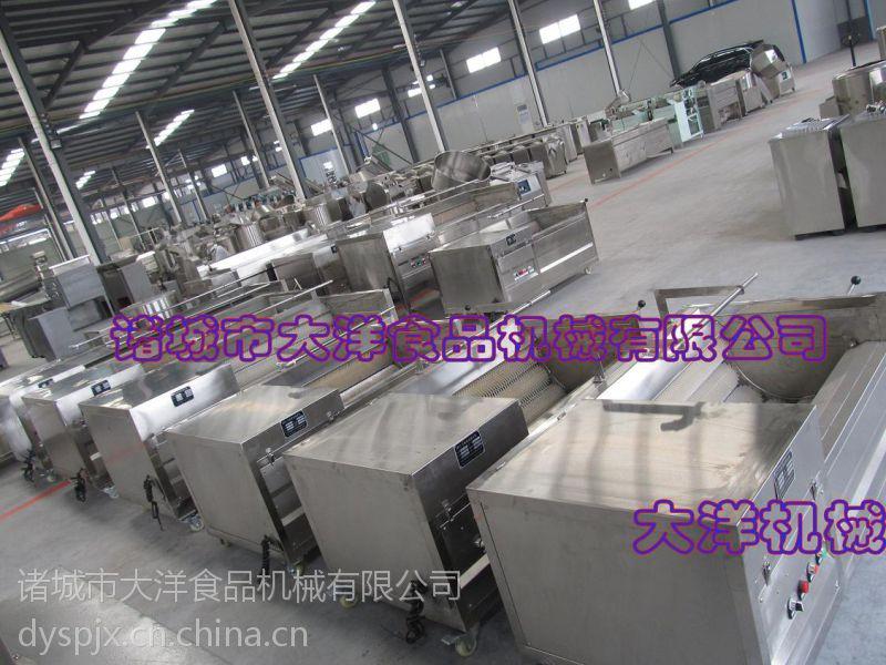 MQT系列大型毛刷清洗机,大产量洗南瓜的机器