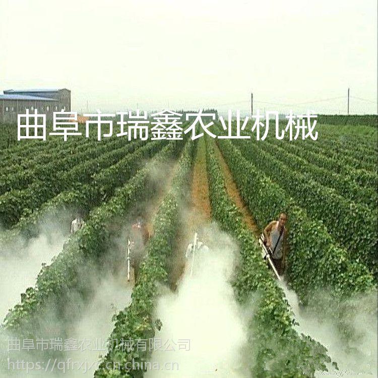 280型号双管烟雾机 果树弥雾机视频 农用脉冲式弥雾机瑞鑫牌
