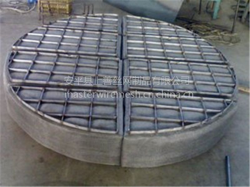 化工除蒸汽设备丝网除沫器 国标不锈钢 标准型 DN300-16000厚度100-800 上善