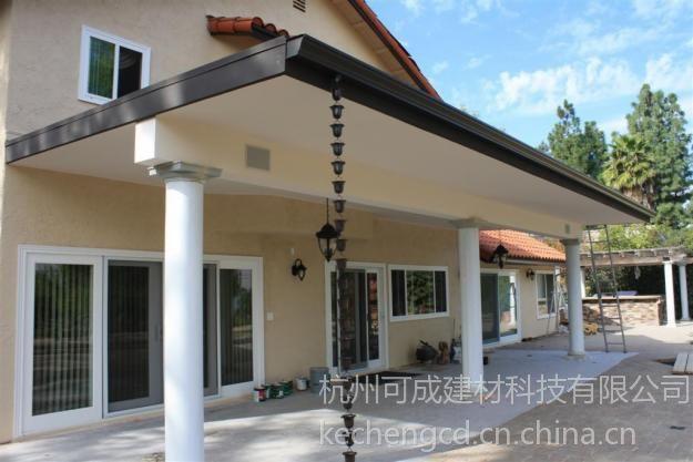 杭州铝合金成品檐槽K型实地考察18357122027