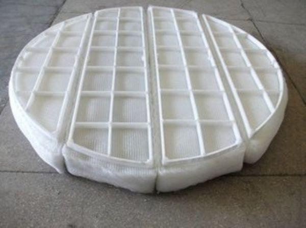 使用丝网除雾器解决烟囱水气问题 有效过滤烟气水蒸气 不锈钢 PP材质 上善定做