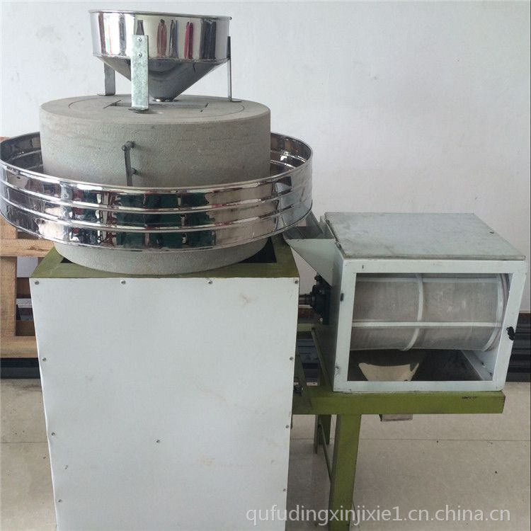 电动石磨机 面粉加工专用电动石磨 天然石材 鼎信打造