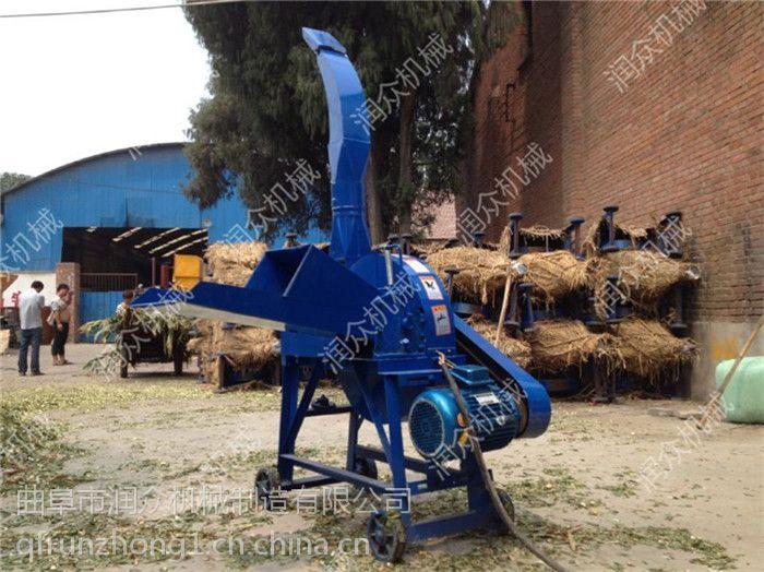 多筛网粉碎铡草机 饲料粉碎切碎机 润众机械