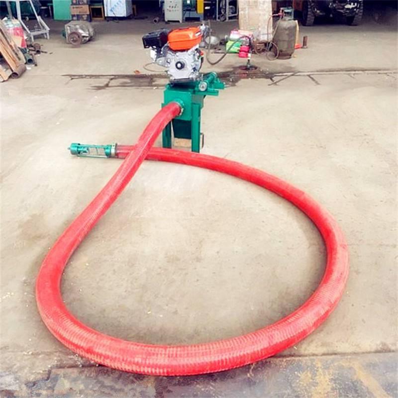 谷物稻麦高粱装车设备 螺旋转动吸粮机 质优耐用的软管提粮机