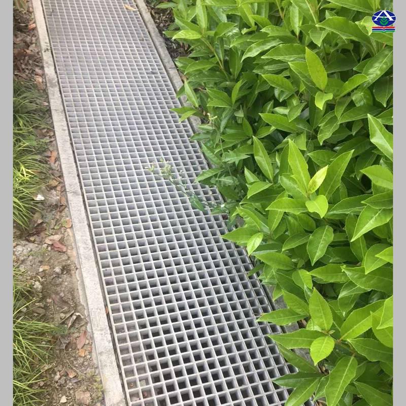 【水处理建材】商丘城镇二级污水处理厂耐酸碱网格板去除溶解性污染物 河北华强