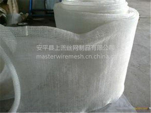 酸雾净化塔耐酸碱防腐蚀PP除雾网 高效气液过滤 40-50厘米宽 安平上善批发