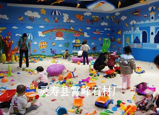 儿童游乐场专用白沙子 20-40目儿童娱乐海沙 儿童沙池白沙子价格
