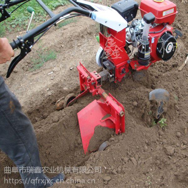 土豆起垄机 柴油开沟培土机 大葱种植开沟机瑞鑫牌