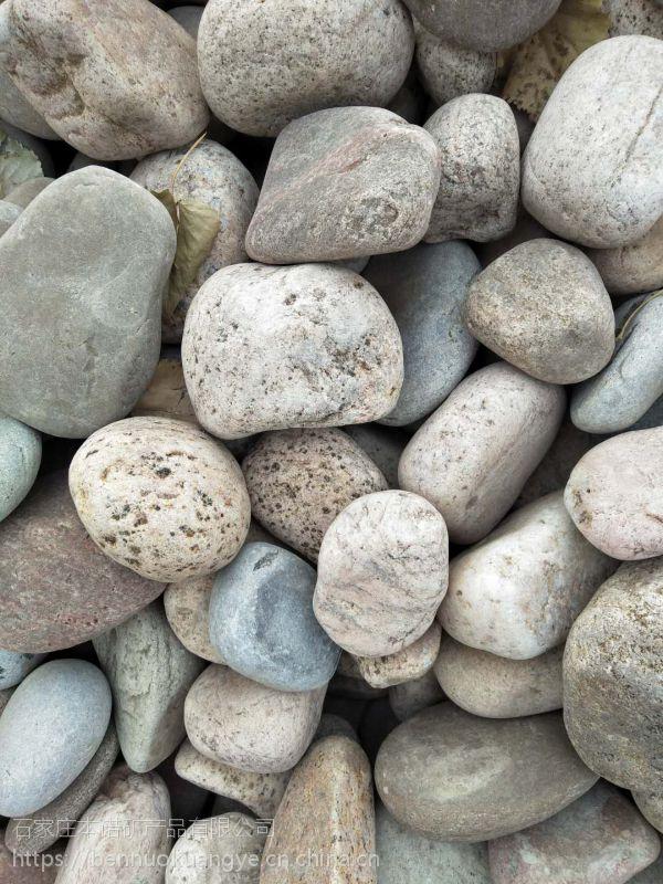 本诺厂家供应鹅卵石滤料 园林景观水处理鹅卵石