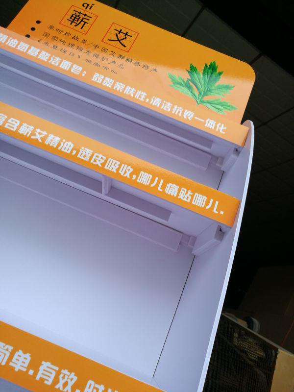 安迪板展示架 组装承重力好展架塑胶板广告促销展示架广州工厂