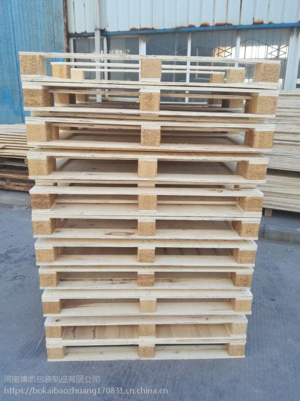 供应木托盘河南木托盘厂加工欧标木卡板