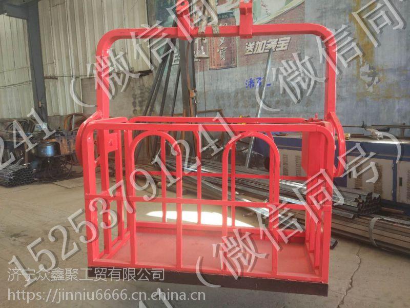 新款 0.8米--1.5米 8吨--50吨吊车专用 吊车吊篮专用 自动调平吊车专用吊篮