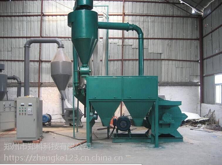 郑州郑科800型大枣木粉机组细度调节说明