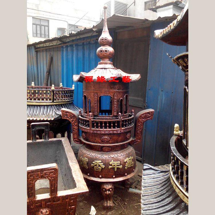 供应生铁铸造一层宝鼎寺庙寺院道观旅游景区祠堂宝鼎法器厂