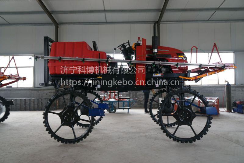 新款大型农用喷雾器 自走式喷雾打药机 小麦水稻杀虫机喷药车