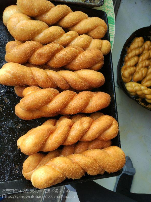 蜂蜜奶香脆皮麻花做法技术培训乐天利烘焙研发奶香脆皮麻花配方