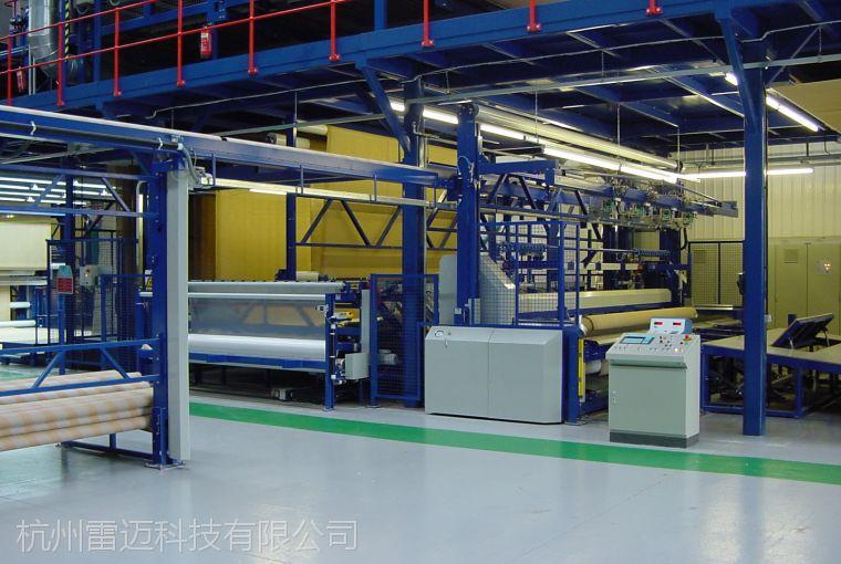 荷兰ETF地毯自动分切包装和物流整厂方案